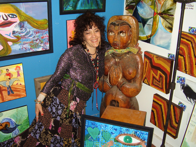 Debbe Priestly with Earth Goddess